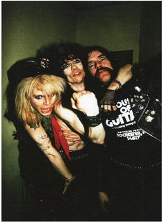 Stiv Bators Michael Monroe Lemmy Kilminister