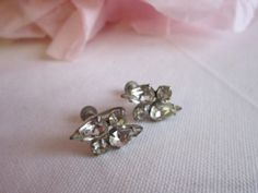 SALE  Sale sale    Vintage earrings with by timelesspeonywedding, $10.95