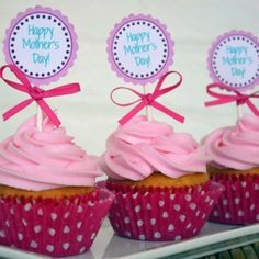 Happy Mothers day Funny Cake Toppers