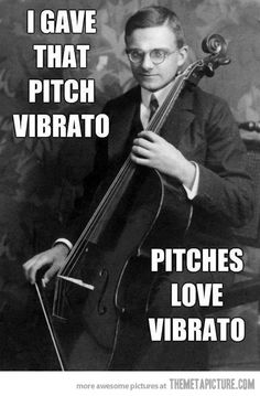 I gave that pitch vibrato