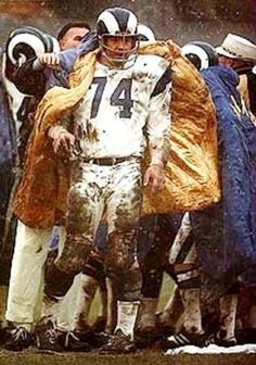 Merlin Olsen. Los Angeles Rams.