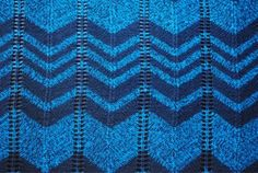 Chevron knitting pattern - hmmmm...where can i find some spare time to knit this in a pretty pink?!?