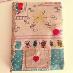 Handmade notebook case #wonderlandatolye