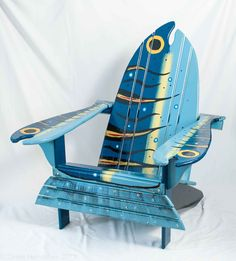 Already planning for summer... I can just see myself kicking back in this cool chair with a good read.