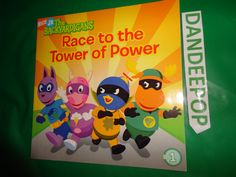 Nick Jr. The Backyardigans Race To The Tower Of Power #1 2006 Book find me at www.dandeepop.com