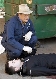 NCIS - Ducky, formerly Illya- Man from U.E Two great roles, two great shows