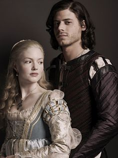 Holliday Grainger as Lucrezia Borgia and Francois Arnaud as Cesare Borgia