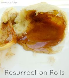The Best Easter Dessert: Resurrection Rolls │ thehappytulip.com