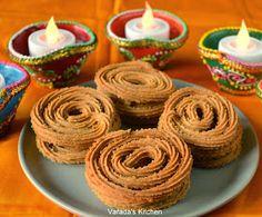 Varada's Kitchen: Baked Bhajani Chakli