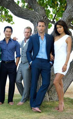 "Cast of Hawaii Five-0 Daniel Dae Kim (Chin Ho) Scott Caan (Danny ""Danno"" Williams) Alex O'Loughlin (Steve McGarrett) Grace Park (Kono)"