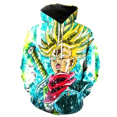 Super Saiyan Trunks V2 Dragon Ball Z Hoodie