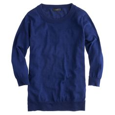 Merino wool Tippi sweater : Pullovers | J.Crew {colours: midnight blue; heather lavender; ivory}