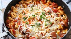 Get a delicious Italian dinner on the table in less than 30 minutes with this easy one-pot recipe.