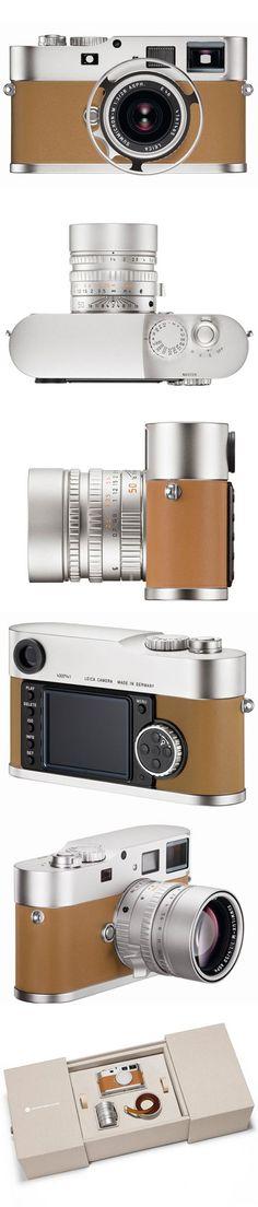 ♂ Hermès M9, Special Edition Camera, by Leica, via Freshness from http://www.freshnessmag.com/2012/05/11/leica-m9-p-edition-hermes-premium-special-edition-digital-camera/ #DigitalCameras