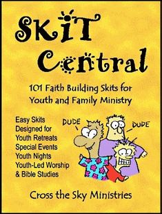 Skit Central Christian skits for youth ministry Youth Lessons, Bible Lessons, Youth Group Activities, Youth Groups, Church Activities, Speech Therapy Activities, Play Therapy, Christian Skits, Camp Skits