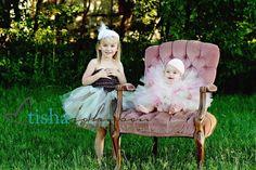 Custom Toddler Tutu - Design your own Sewn Tutu set - sizes 2 thru 5 toddler - Perfect for portraits and birthdays. $30.00, via Etsy.