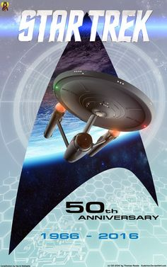 50 Years Star Trek by Euderion.deviantart.com on @DeviantArt ;-)~❤~