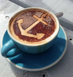 Now that's my kinda coffee!  #anchor #crush photo via www.citybeach.com.au/