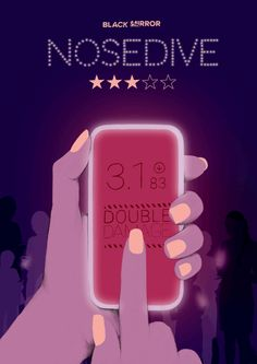 Black Mirror Nosedive -  illustration poster - Spiros Halaris Studio