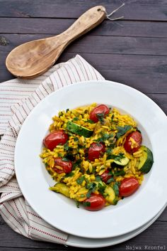 Orzo with Vegetables, A Great Side Dish