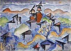 Landscape - 1914 Man Ray
