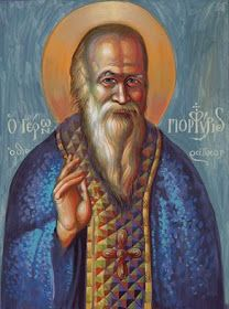 Saint Porphyrious by Stamatis Skiris. Orthodox Icons, Religious Art, Saints, Religion, Christian, Canvas, Instagram Posts, Artwork, Painting