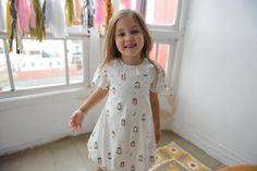 Camisola Balonê para meninas que parece vestido! | Girls nightgown and dress! by Cookie #cookiedreams #pijamas