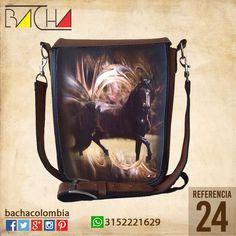 #Bolso Equino 24 #CUERO Con acolchado interno Grande 26x23x7cm Mediano 22x19x7cm