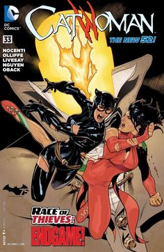 #Catwoman (2011) #33 vs Talia AlGhul (Cover Artist: Terry Dodson)