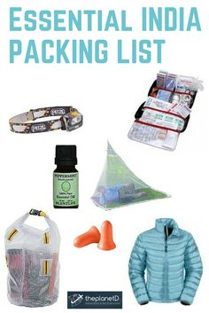 13 Essential Items for India, and 5 We Wish We Had What to Pack for a trip to India? Here are the items on our packing list that we brought, or wish we had take with us (or left at home) Packing List For Vacation, Travel Packing, Travel Tips, Travel Vlog, Packing Lists, Travel Articles, Travel Hacks, Travel Advice, Travel Ideas