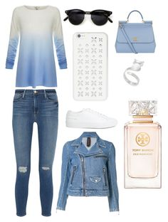 """Sans titre #1463"" by merveille67120 ❤ liked on Polyvore featuring Joie, Frame Denim, Common Projects, MICHAEL Michael Kors, Maison Mihara Yasuhiro, Dolce&Gabbana and Tory Burch"