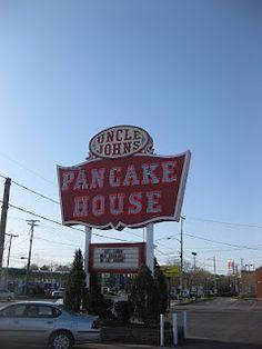 Uncle John's Pancake House Toledo, Ohio ~ My first job