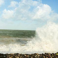 woosh #nikicottonartdotcom #waves #beachlife #ocean #sea #beach
