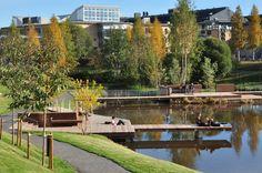 Imagen 1 de 16 de la galería de Parque del Campus Umeå / Thorbjörn Andersson + Sweco Architects. Fotografía de Thorbjörn Andersson + Sweco Architects