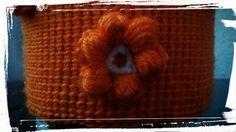 Como hacer una flor tipo puff de ganchillo o crochet