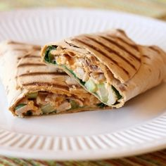 Buffalo Chicken Wraps - i think i have about 3 different recipes for buffalo chicken wraps. but i'm not upset.