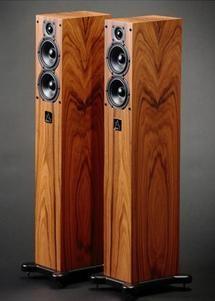 Leema Acoustics Xone miniature floor-standing loudspeaker, from the UK