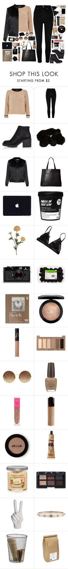 """""""S T Y L E"""" by sillyyivyy ❤ liked on Polyvore featuring River Island, Glamorous, SOREL, philosophy, Chanel, Leica, MAC Cosmetics, NARS Cosmetics, Urban Decay and Victoria Beckham"""
