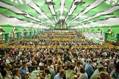 List of the best Oktoberfest beer tents, including reviews, contact information, and opening hours of Oktoberfest beer tents
