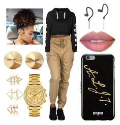 """""""DONT KILL MY VIBE"""" by ashanti7 on Polyvore featuring Topshop, Charlotte Russe, Lacoste, Eddie Borgo, Avia, Givenchy, women's clothing, women, female and woman"""