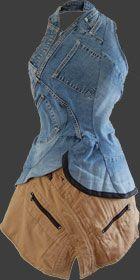 Robe jeans