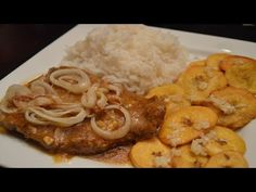 Bistec Encebollado Puerto Rican Steak and Onions!  If you love Puerto Rican food, than you will definitely want to try this recipe! This reheats VERY WELL and you can easily double/triple the recipe.