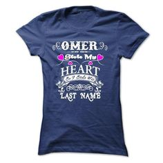 OMER  STOLE MY HEART ! T-Shirts, Hoodies (25.95$ ==►► Shopping Here!)