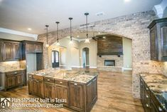 House Plan comes to life in Texas - photo 009 Dream House Plans, House Floor Plans, Texas Style Homes, Barn House Design, Interior Photo, Interior Design, New Homes, Tiny Homes, Dream Homes