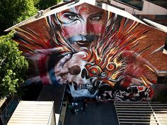 Rone #maslindo Art around the world : http://www.maslindo.com