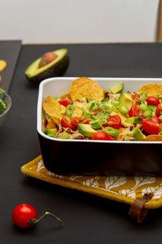 Lettvint nachosform Nom Nom, Food And Drink, Mexican, Ethnic Recipes
