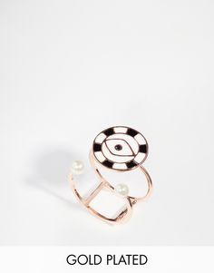 Eyland Rose Gold Plated Dawn Ring