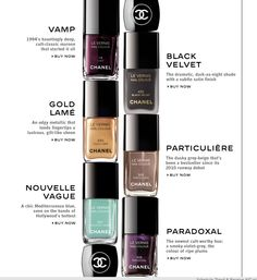I wanna try Chanel nailpolish