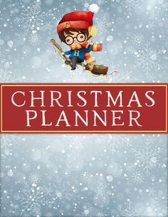 The Holiday Season is upon us and it is time to get organized. So... to help you with that...we have a Free Printable Harry Potter Christmas Planner!