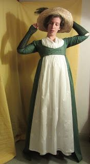 The Shadow of My Hand: 1790s open robe